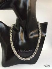 Collana chainmaille bizantina