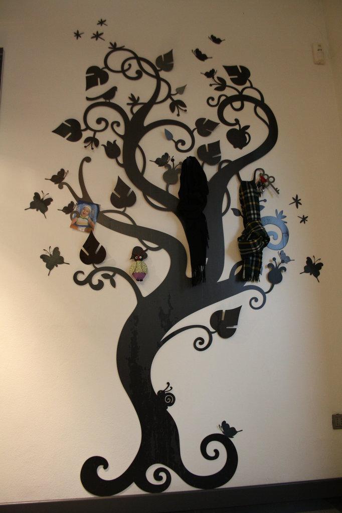 ALBERO FANTASY TREE 3D - Porta oggetti, appendiabiti ...