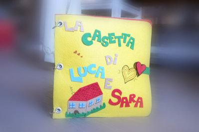Quiet book - The doll's house - La casetta di Luca e Sara