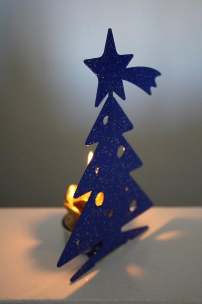 ALBERO 3D - Decori natalizi - Portacandele
