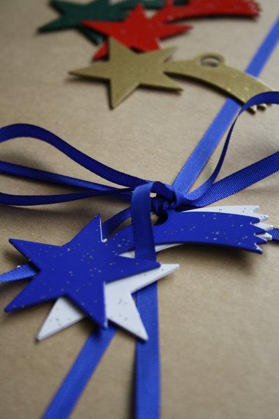STELLA COMETA 3D - PALLINA - Decori natalizi