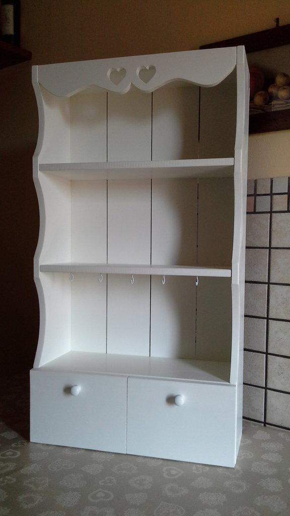 Piattaia in legno in stile shabby chic - Per la casa e per te - Arr ...