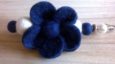 Spillone inverno fiore blu