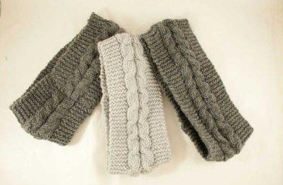 Fascia in cachemire lavorata a maglia made in Italy