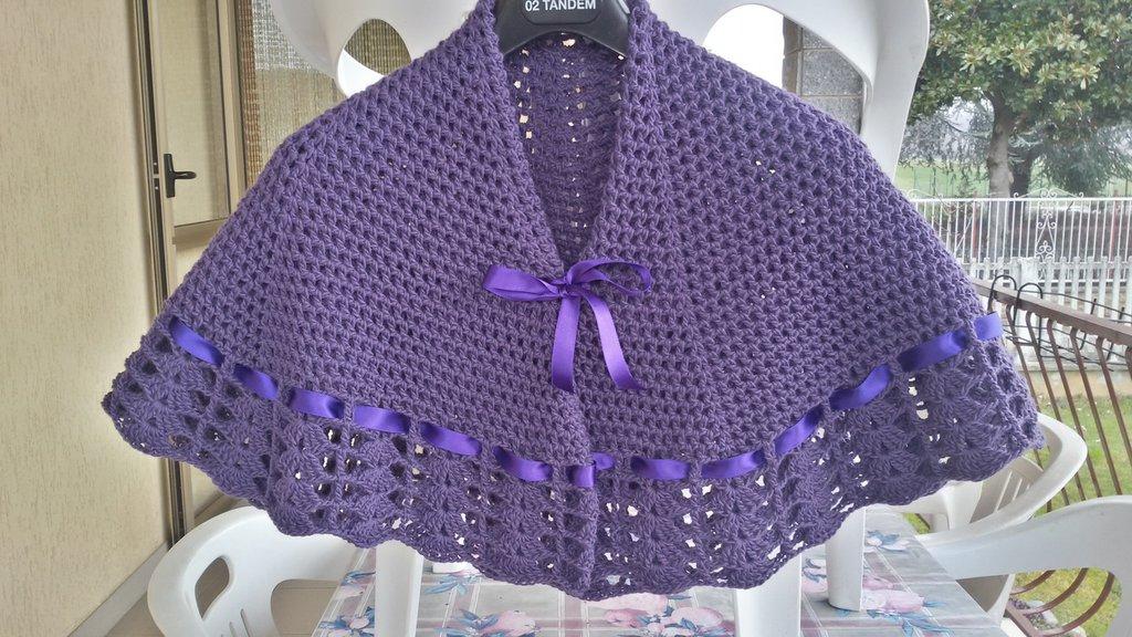 Scialle Della Nonna O Mantellina Donna Abbigliamento Di Ma