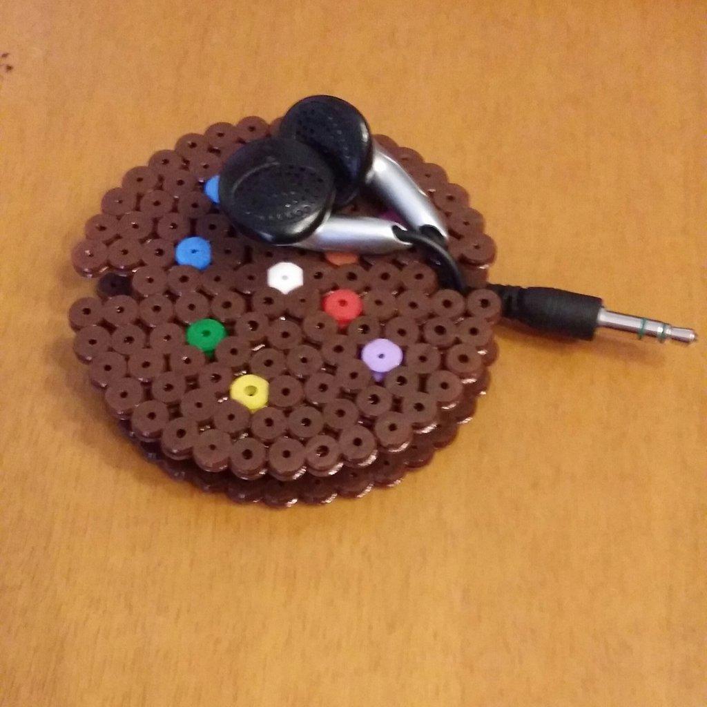 Porta-cuffiette a forma di biscotto
