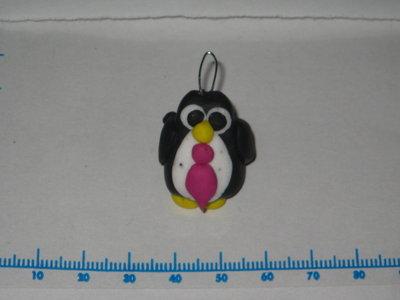 pinguino fimo