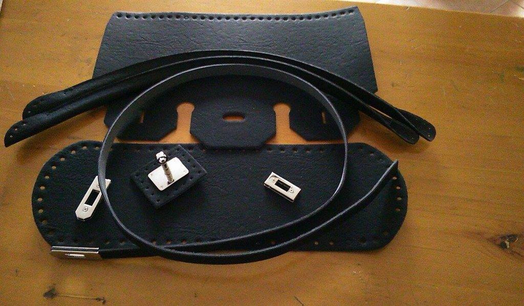 kit birkin per borsa su rete o in fettuccia  colore nero