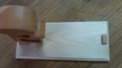 Casa portacellulare da tavolo in legno fatto a mano per la casa e su misshobby - Tornio per legno fatto in casa ...
