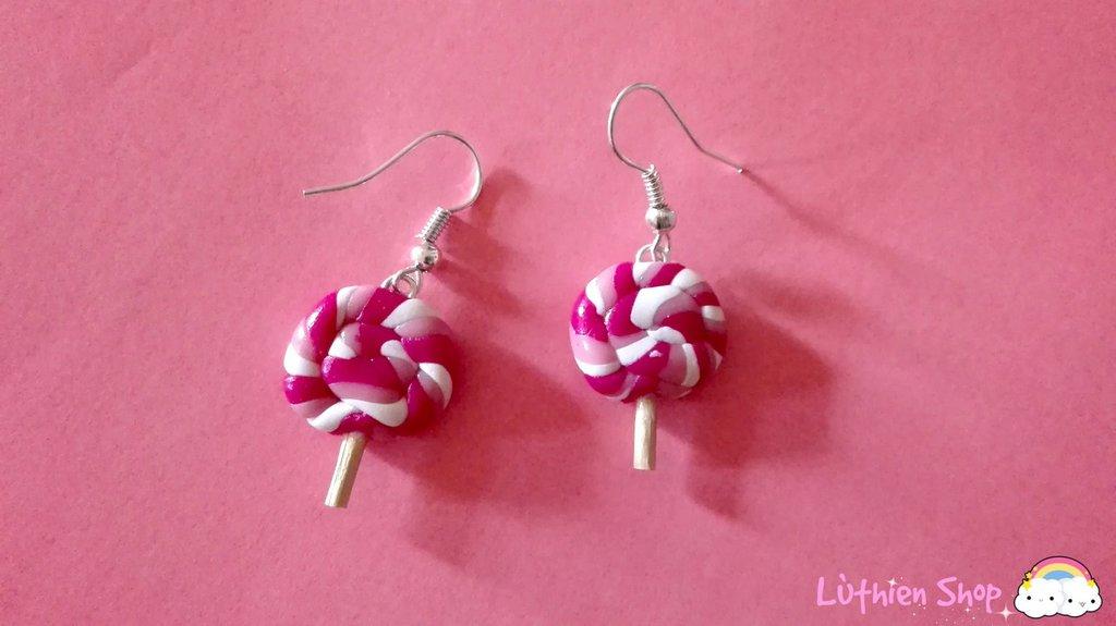 Orecchini Lollypop Rosa