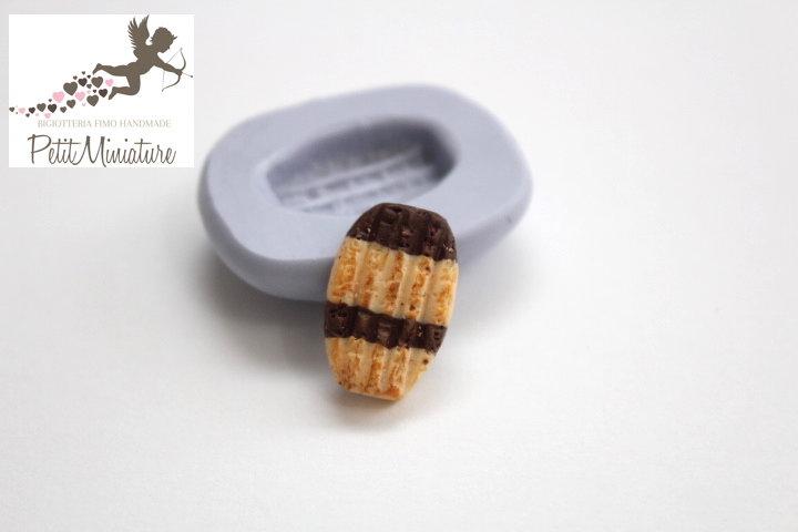 Stampo Silicone Biscotto 1 Stampo 2cm-Stampo Gioielli Fimo kawaii-Stampo per Fimo Resina Cera Gesso pasta di zucchero ST260