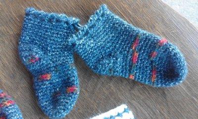 calzini lana bambino/a fatti a mano (anche su ordinazione)