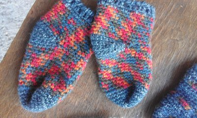 calzini bambino/a lana fatti a mano (anche su ordinazione)