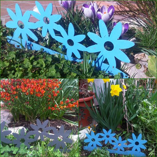Fiori 3d bordura per giardino per la casa e per te for Bordura giardino
