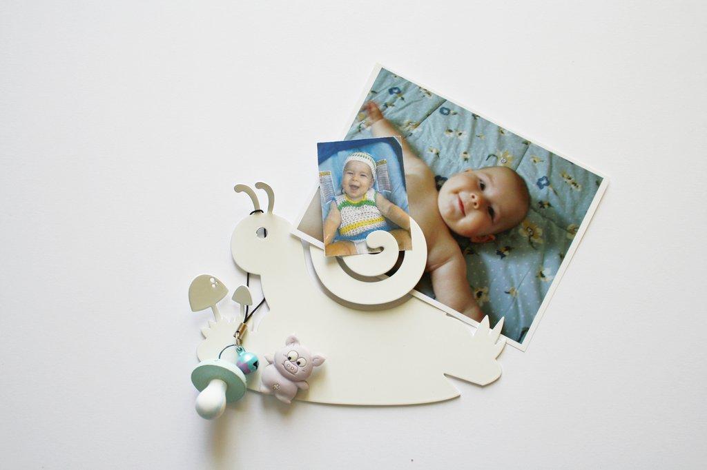 BABY CHIOCCIOLA 3D - Simpatiche decorazioni Hook