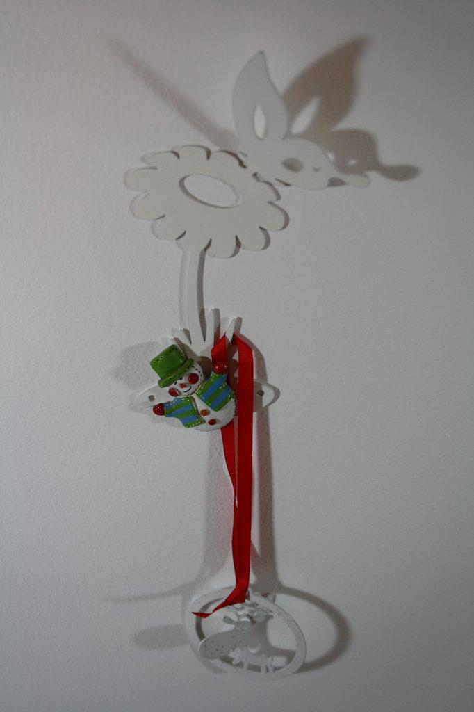 BABY FIORE E FARFALLA 3D - Simpatiche decorazioni Hook