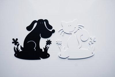 BABY GATTINO 3D - Simpatiche decorazioni Hook
