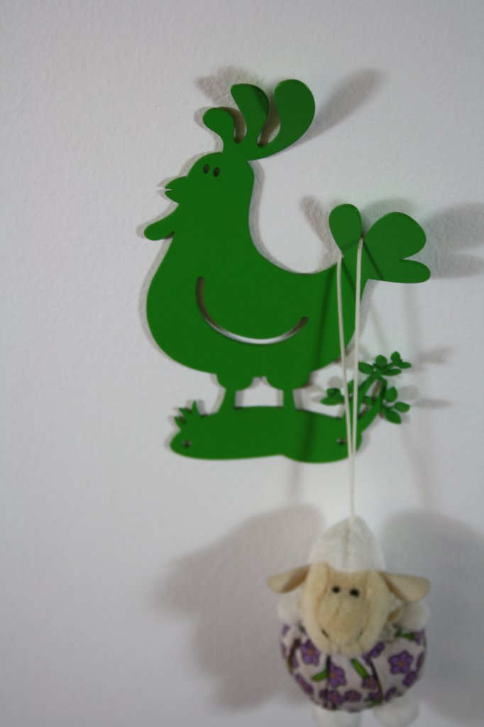 BABY GALLO 3D - Simpatiche decorazioni Hook