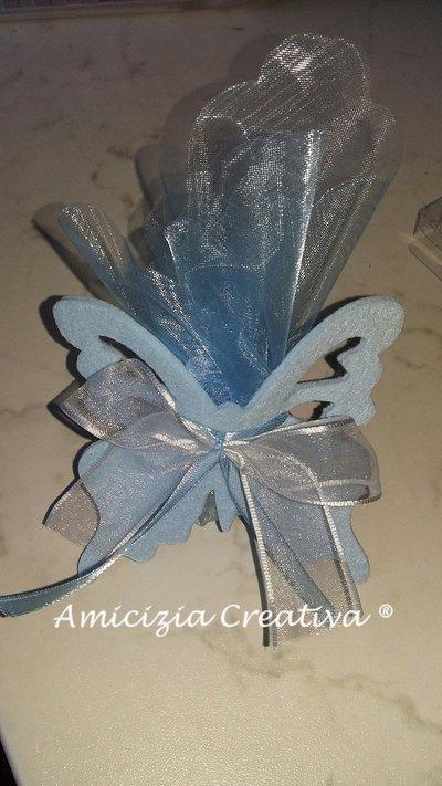 Porta confetti farfalla