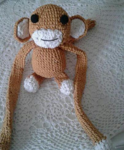 Scimmietta raccogli tenda