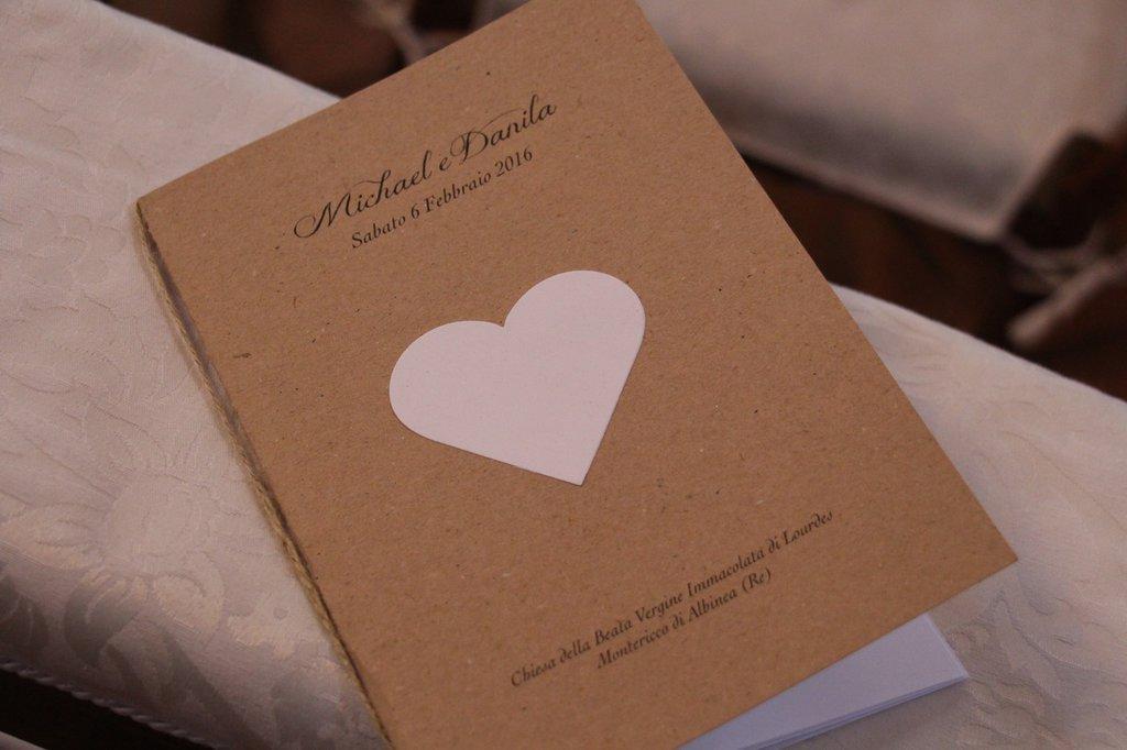 Libretto Messa Matrimonio Country Chic : Libretto messa country chic feste matrimonio di le