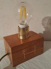 Lampada mobile in legno HobbyWood
