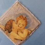 ORIGINALE ED ELEGANTE QUADRO IN DECOUPAGE