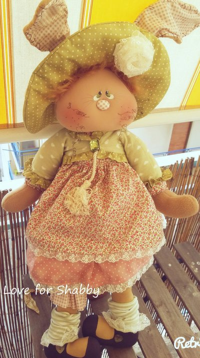 Coniglio Toulipe handmade