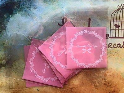 15 Bustine rosa per confezionamento