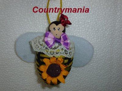 Bomboniera ape colorata