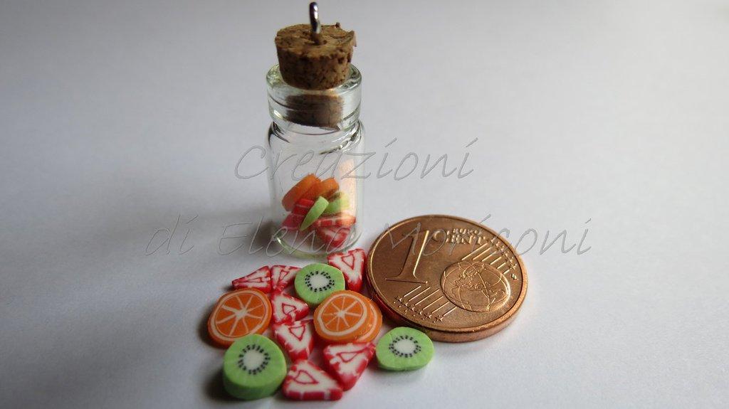 Minibottiglia con frutta