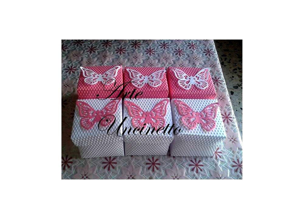 scatoline porta confetti come bomboniere nascita