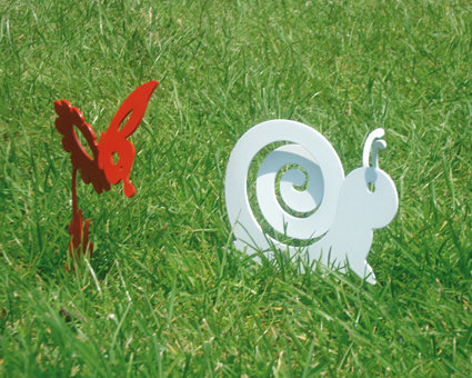 CHIOCCIOLA BABY 3D - Originale design Spikey. Decorazione d'arredo d'esterni e d'interni