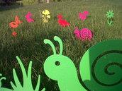 PAPERINA BABY 3D - Originale design Spikey. Decorazione d'arredo d'esterni e d'interni