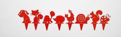 CANE BABY 3D - Originale design Spikey. Decorazione d'arredo d'esterni e d'interni