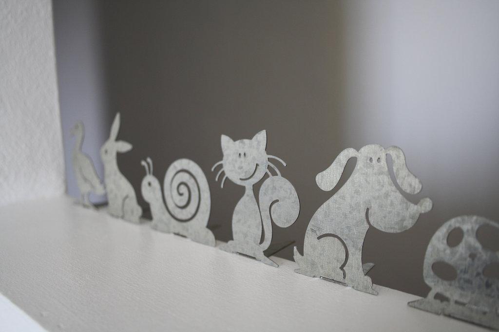 PAPERINA/O BABY 3D - Particolare design Spikey. Decorazione d'arredo d'esterni e d'interni