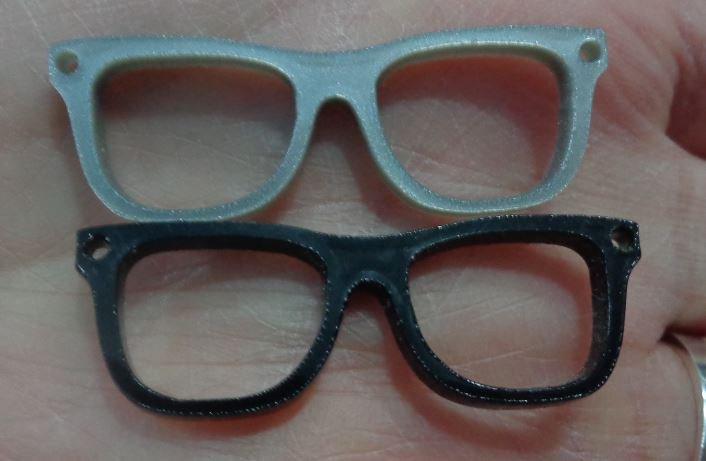 50% DI SCONTO - 5 Pendenti Occhiali Plexi
