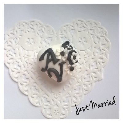 segnaposto matrimonio, wedding in black and white, confetti decorati