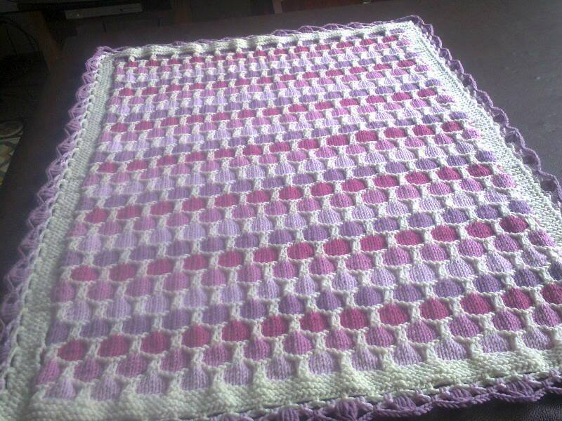 Copertina neonato in pura lana