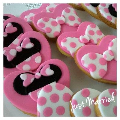 biscotti decorati tema minnie