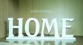 Scritta HOME in legno per il fai da te 1 PZ