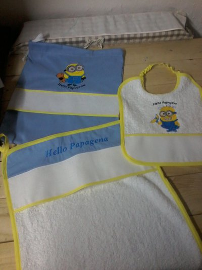 Set asilo minion