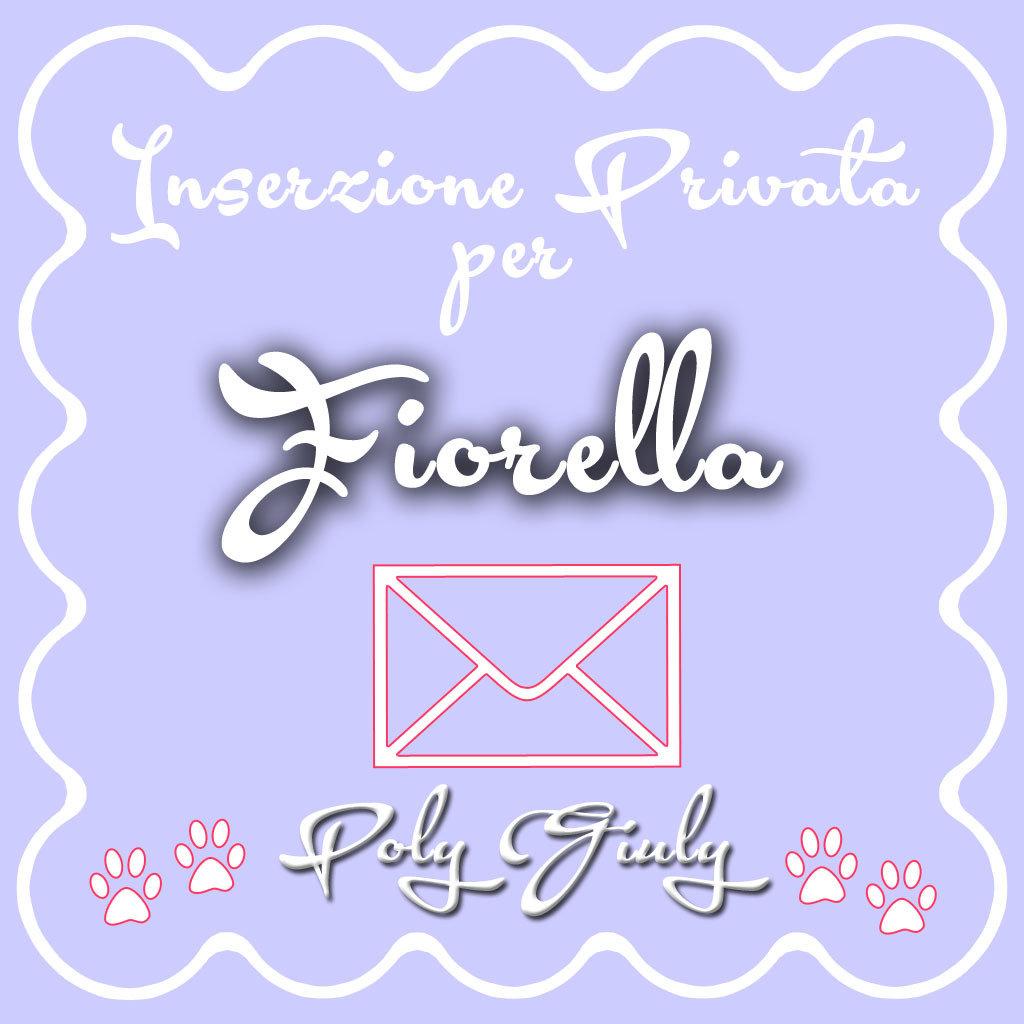 X Fiorella Inserzione Privata - cornice zampine WILL e HAY LIN