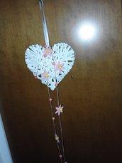 cuore decorazione nascita