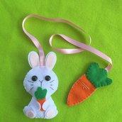 Segnalibro coniglietto con carota