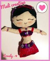 Calamita bambolina Danzatrice del ventre