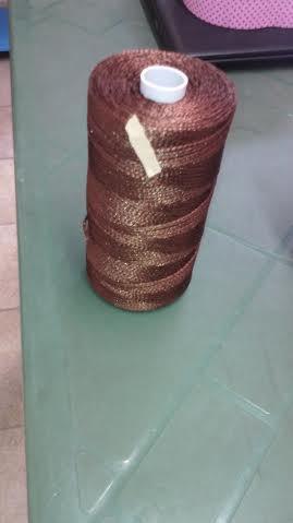 cordino thai effetto seta marrone chiaro