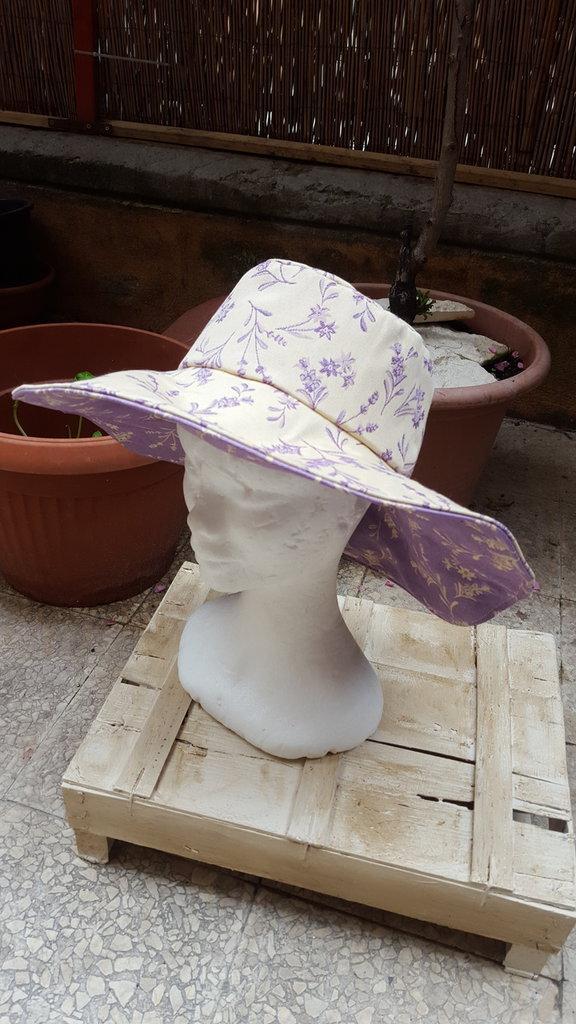 cappello misto cotone