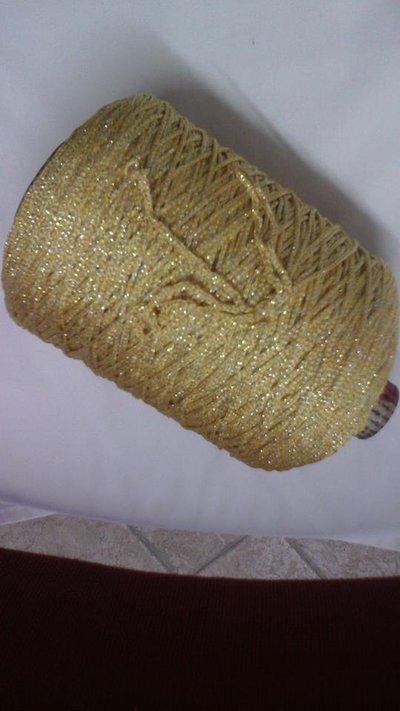 cordino thai effetto thai lurex oro