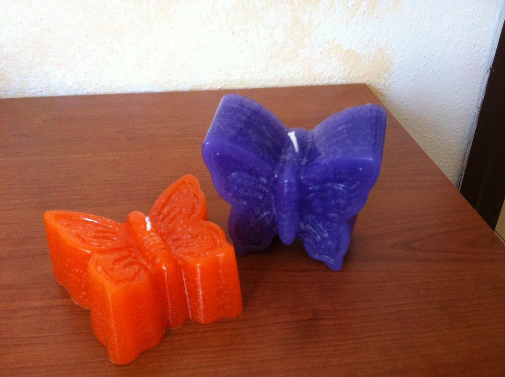 Candela farfalla grande